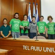 חלק מנבחרת הנוער שתייצג את ישראל באולימפיאדה הבינלאומית למתמטיקה
