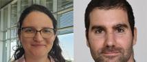 """ברכות לדוקטורנטים מריה מקריניץ ותמיר אדמון מבית הספר לכימיה על זכייתם בפרס על עבודה מדעית פורצת דרך בכימיה ע""""ש אביטל וערן רבני"""