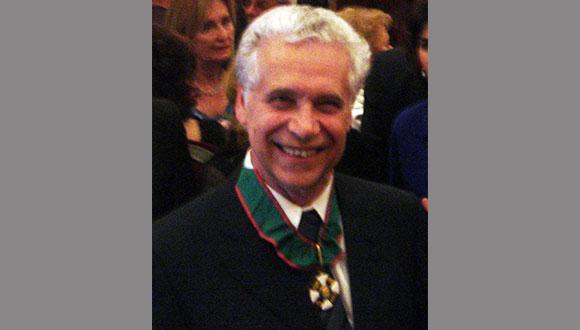פרופסור גבריאל וונציאנו זוכה במדליית דיראק לשנת 2014
