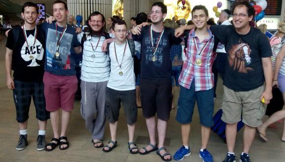 נבחרת ישראל בתחרות הבינלאומית במתמטיקה לסטודנטים
