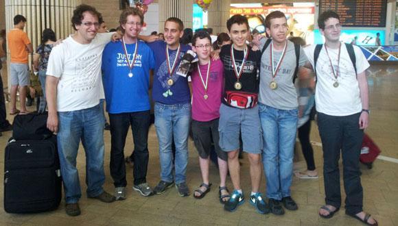 נבחרת ישראל זכתה במקום הראשון בתחרות מתמטית בינלאומית