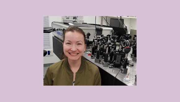 """ברכות לדוקטורנטית קתרין אקולוב על זכייתה במלגת משרד המדע ע""""ש שולמית אלוני לקידום נשים במדעים מדויקים ובהנדסה"""